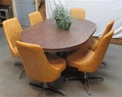 chromcraft dining room furniture harvest gold chromcraft vintage