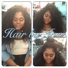 weave no leave out hairstyle brazillian different styles different curls some with little edges out no