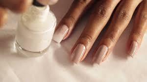 gradient nails tutorial tan taupe into white youtube