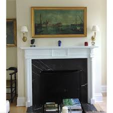 fireplace display colonial fireplace mantel single reeded columns with cap
