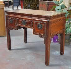scrivanie stile antico collezione di consolle cinesi tavoli etnici e scrittoi orientali