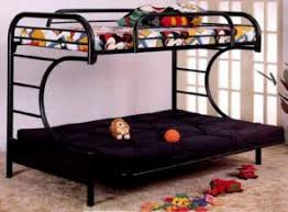 Bunk Bed With Futon On Bottom Wonderful Design And Benefits Of Using A Metal Futon Bunk Bed