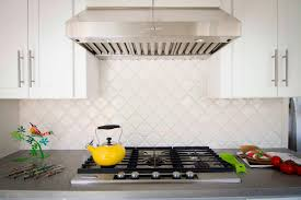 white backsplash tile for kitchen before after kitchen breakfast nook makeover 2014 hgtv