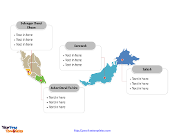 Blank Southeastern States Map by Free Malaysia Editable Map Free Powerpoint Templates