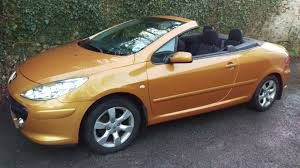 2006 peugeot 307 cc s metallic gold 1795