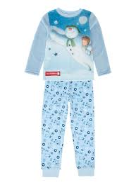 all boy s clothing boys blue snowman pyjamas 9 months 6 years