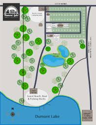Ohio Campgrounds Map Dumont Lake Family Campground Campground General Information