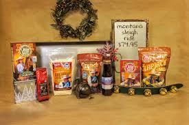 Christmas Gift Basket Christmas Gift Basket Montana Sleigh Ride