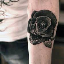 the most brilliant in addition to interesting black rose tattoo