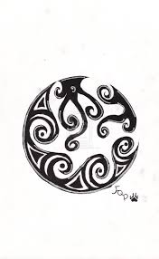 tribal moon by forest paw on deviantart