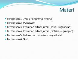 artikel format paper ilmiah penulisan karya ilmiah scientific academic writing ppt download