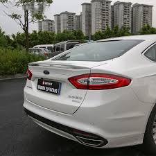 2013 ford fusion spoiler for ford mondeo fusion 2013 2017 rear wing spoiler trunk boot