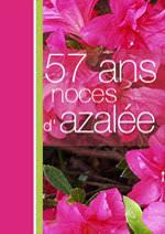 57 ans de mariage cartes noces d azalée noces de érable noces de vison noces de