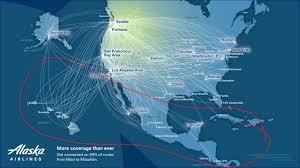 alaska air map alaska airlines gogo 2ku coverage wandering aramean