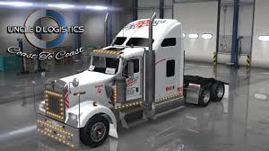 2016 kenworth w900 uncle d logistics heartland express kenworth w900 skin ats mods