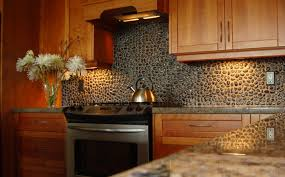 kitchen backsplash tile with dark cabinets glass countertop