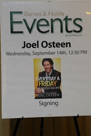 Barnes Noble 5th Ave Joel Osteen Promotes Book In New York