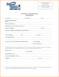 sample contract for service contract agreement sample 213 png