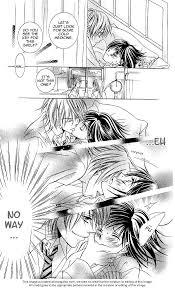 girls kissing in bed hanazakari de koi shiteru cr mangafox kiss bed manga