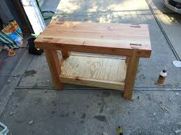 junior roubo workbench by tpmwoodworker lumberjocks com