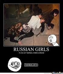 Russian Girl Meme - russian girls human centipede by ben meme center