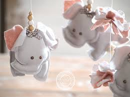 Pink Elephant Nursery Decor Grey Pink Elephant Nursery Decor Pink Grey