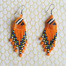 earrings for sale zulu beaded earrings crafted of seed in south africa