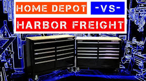 Home Depot Deal Of The Day by Harbor Freight Vs Home Depot Yukon Vs Husky 46