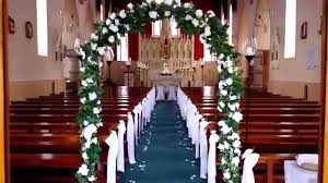 elegant church decor hire www weddingdecorations mozello com youtube