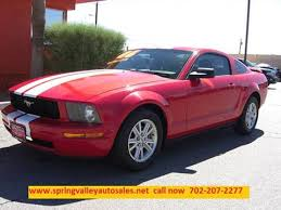 used mustang las vegas 2006 ford mustang for sale in las vegas nv carsforsale com