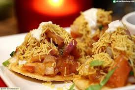 indian chaat cuisine indian curry house papdi chaat