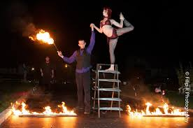 thanksgiving performer sideshow performer aerialist