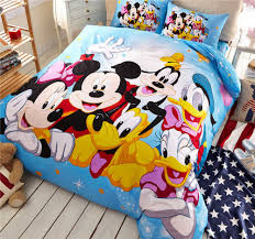 printing bed cover picture more detailed picture about mickey mickey minnie mouse donald duck goofy bedding cotton cartoon disney print bed cover boys home decor