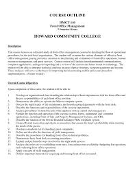 Sample Office Manager Resume by Front Office Manager Resume Example 5 Ilivearticles Info