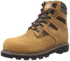 amazon com dickies men u0027s grinder stml toed work boot brown 8 m