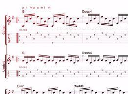 Picking Sheet Exercise Sheet 7 Finger Picking Chord Changing With Rhythm For