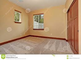unfurnished room with beige interior paint stock photo image
