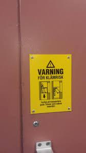 crushed by elevator elevator sign in sweden osha