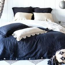 navy duvet cover twin and white canada set
