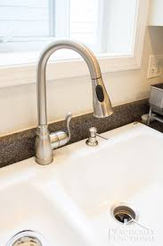 kitchen sink faucet installation