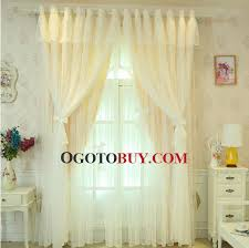 Criss Cross Curtains Princess Criss Cross Curtains Sheer Buy Yellow Kid