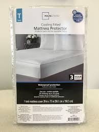 Pillow Top Mattress Pad Walmart Mainstays Cooling Comfort Luxury Fitted Mattress Protector