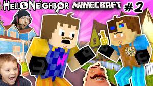 minecraft hello neighbor u0026 his brother fight 4 basement key