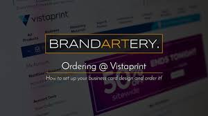Text Your Business Card Vistaprint Ordering Your Business Cards May 2017 Youtube