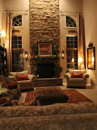 Family Room Old World With Blue Accents Design Pictures Remodel - Traditional family room design ideas