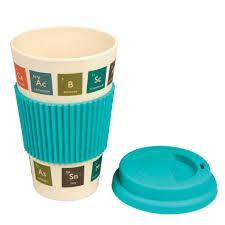 Periodic Table Mug Periodic Table Bamboo Travel Mug Dotcomgiftshop