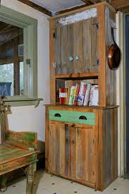 hand made farmhouse kitchen hutch by demolition revival furniture