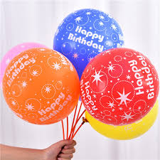 gifts in balloons new happy birthday balloons 12 inch styles