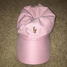 light pink polo baseball cap 67 off polo by ralph lauren accessories light pink polo hat from