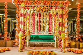 indian wedding flower garland indian wedding with vibrant colors and gorgeous roses inside